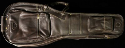 Harvest Leather for Gibson® Les Paul® Guitar Bag