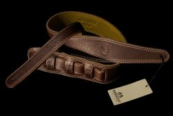 Harvest Leather Premium Guitar Strap - BR