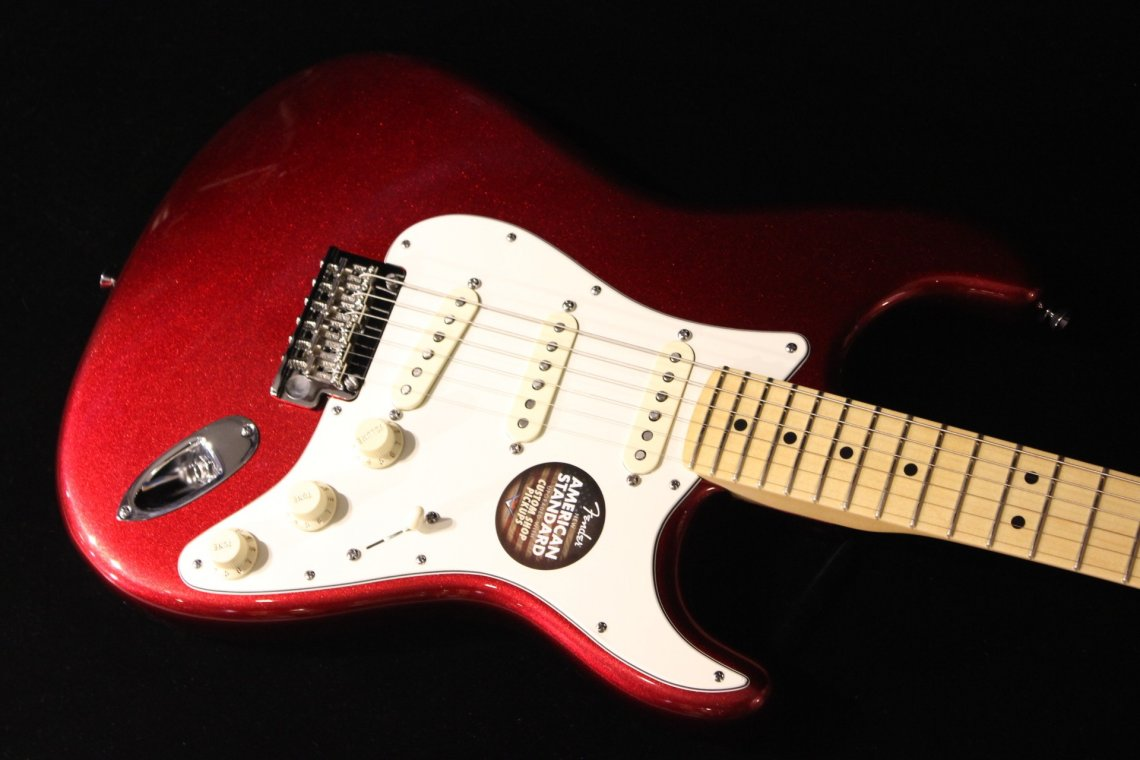 Fender American Standard Stratocaster Mystic Red Gino