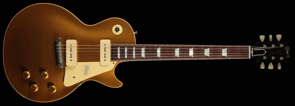 Gibson Custom Historic '54 Les Paul Goldtop VOS - GT - Click Image to Close
