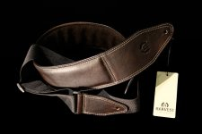 Harvest Leather Thum Guitar Strap - BR