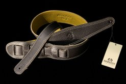 Harvest Leather Premium Guitar Strap - BK