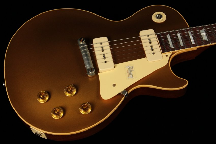 Gibson Custom Historic \'54 Les Paul Goldtop VOS - GT