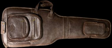 Harvest Leather Buffalo Retro Vintage Crackle Guitar Bag