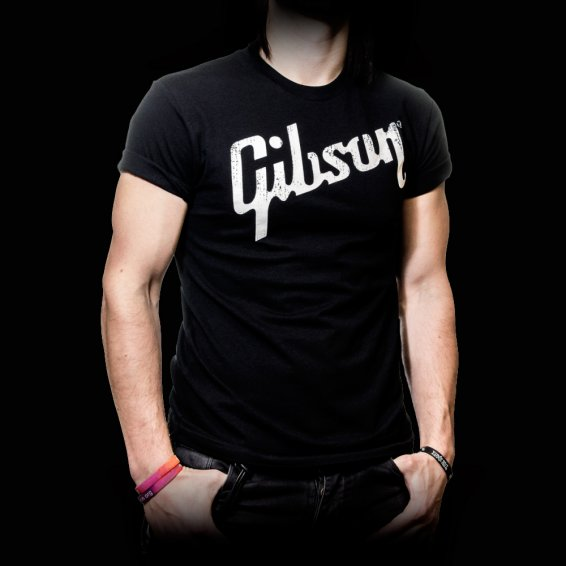 Gibson T-Shirt Logo - Large