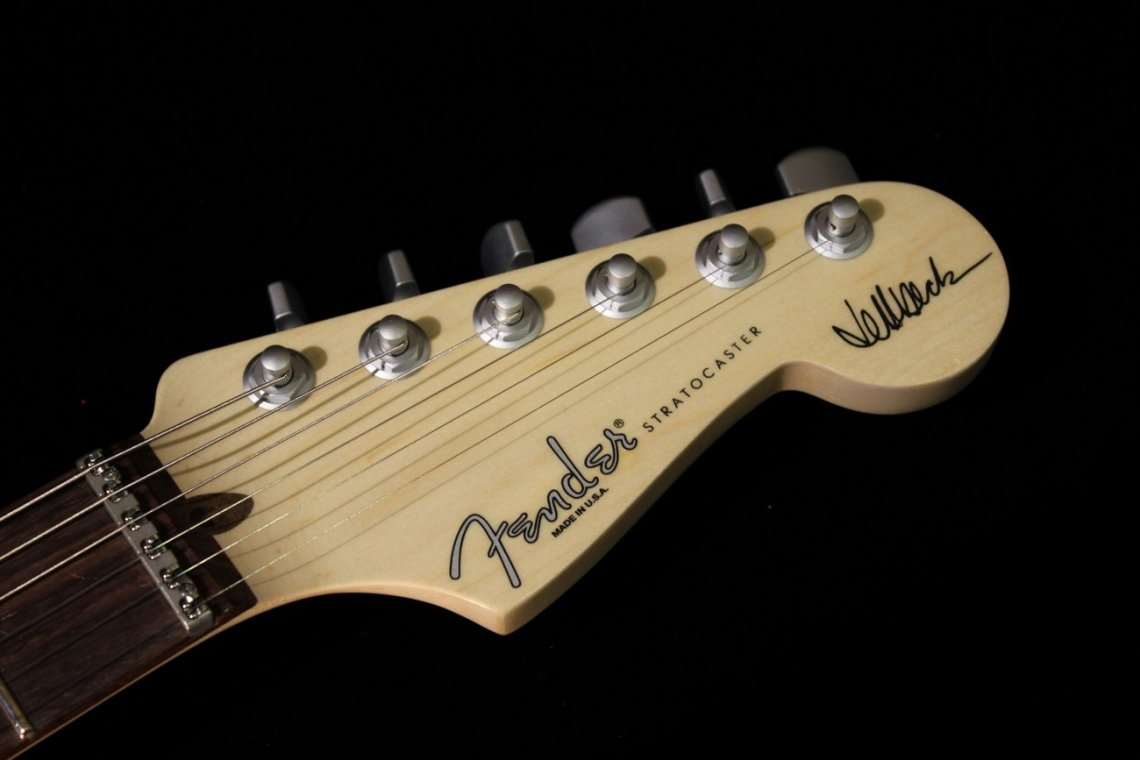 Fender Stratocaster Jeff Beck Signature Olympic White Best 2018 Strat Wiring Diagram Custom Fuzzfaced