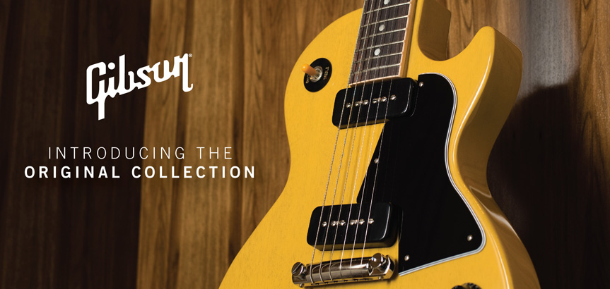 Inotroducing Gibson USA Original Collection