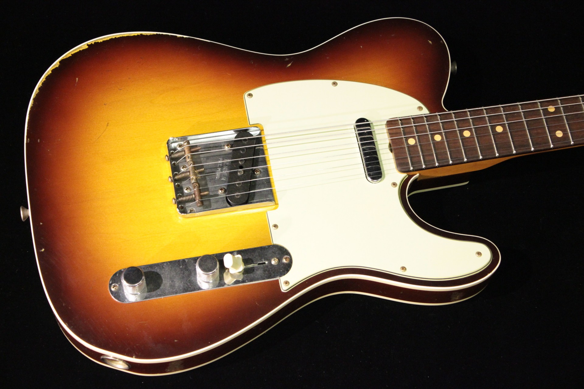 Fender Custom 1960 Relic Telecaster Custom Chocolate 3