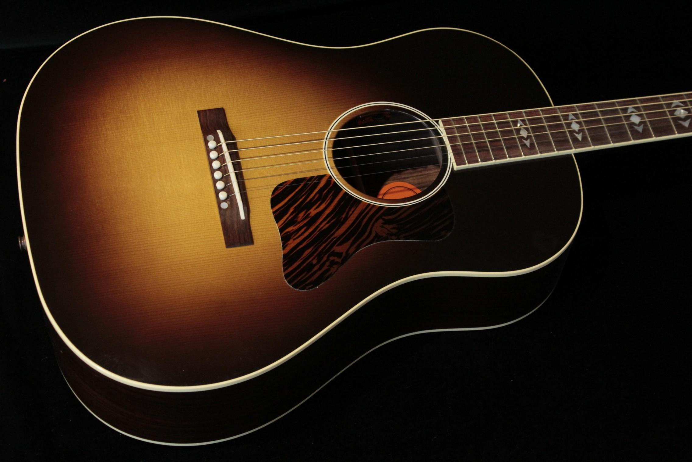 Gibson Advanced Jumbo 12 Fret Wildwood Vintage Sunburst