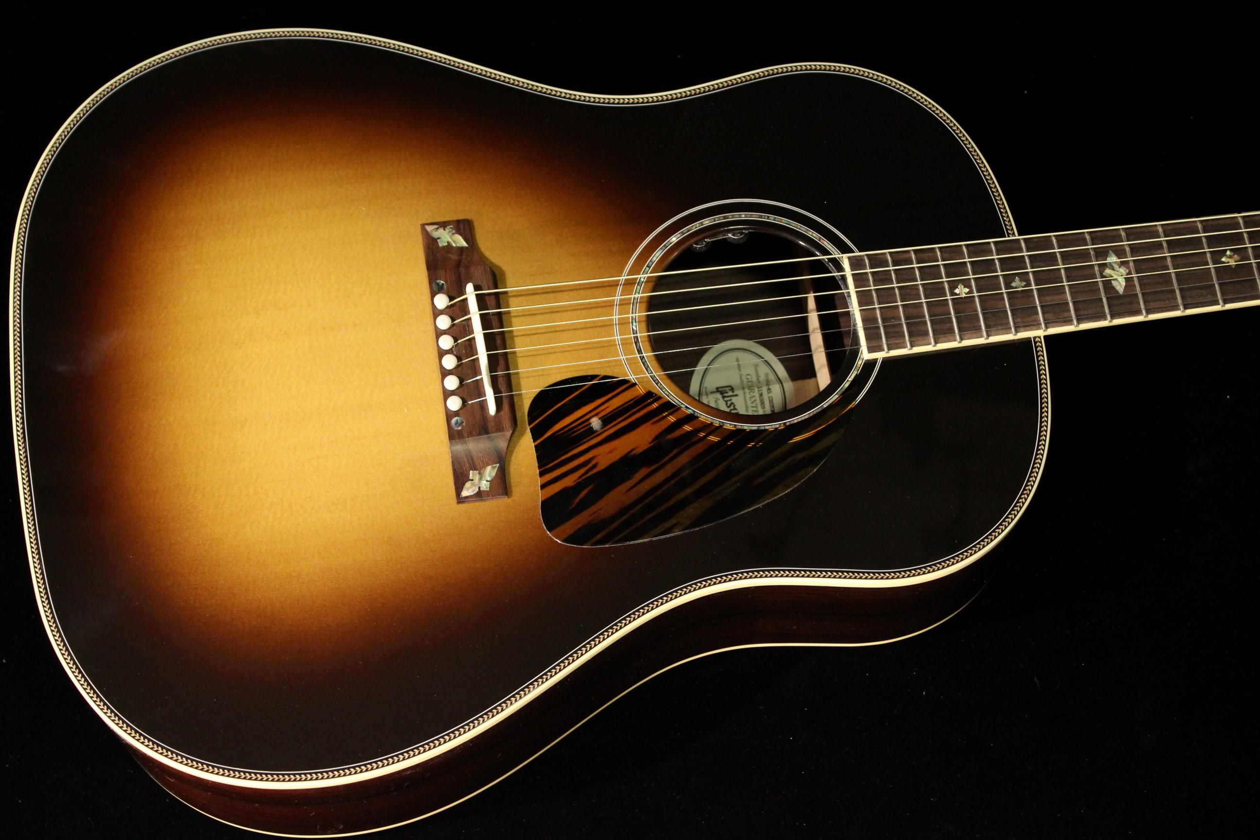 gibson j 45 custom 2016 vintage sunburst sn 11965009 gino guitars. Black Bedroom Furniture Sets. Home Design Ideas