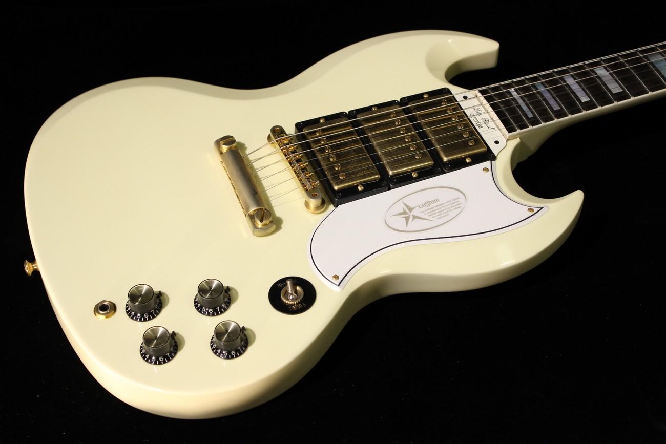 gibson custom sg custom vos classic white sn 000661 gino guitars. Black Bedroom Furniture Sets. Home Design Ideas
