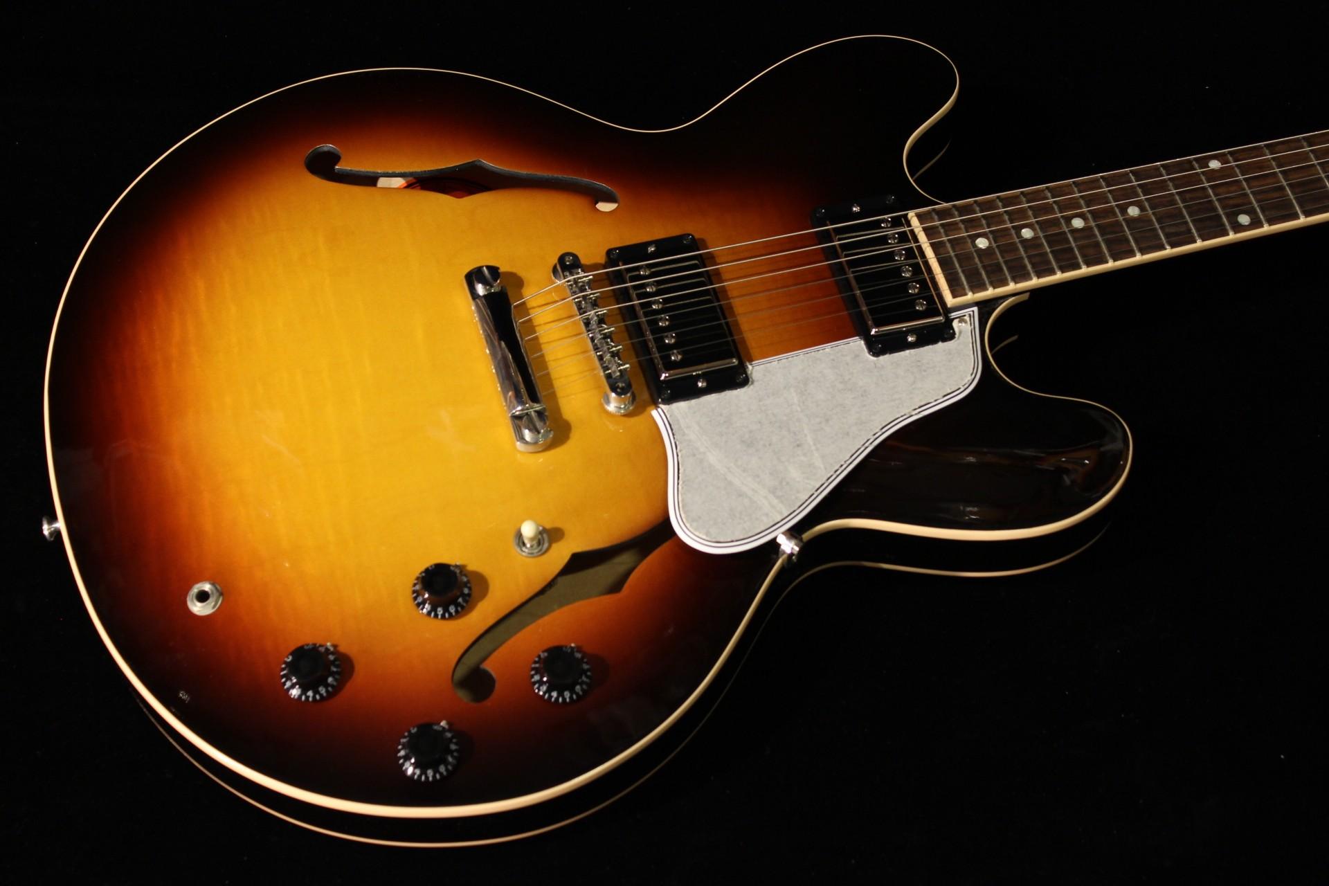 gibson memphis es 335 dot figured triburst sn 11212703 gino guitars. Black Bedroom Furniture Sets. Home Design Ideas