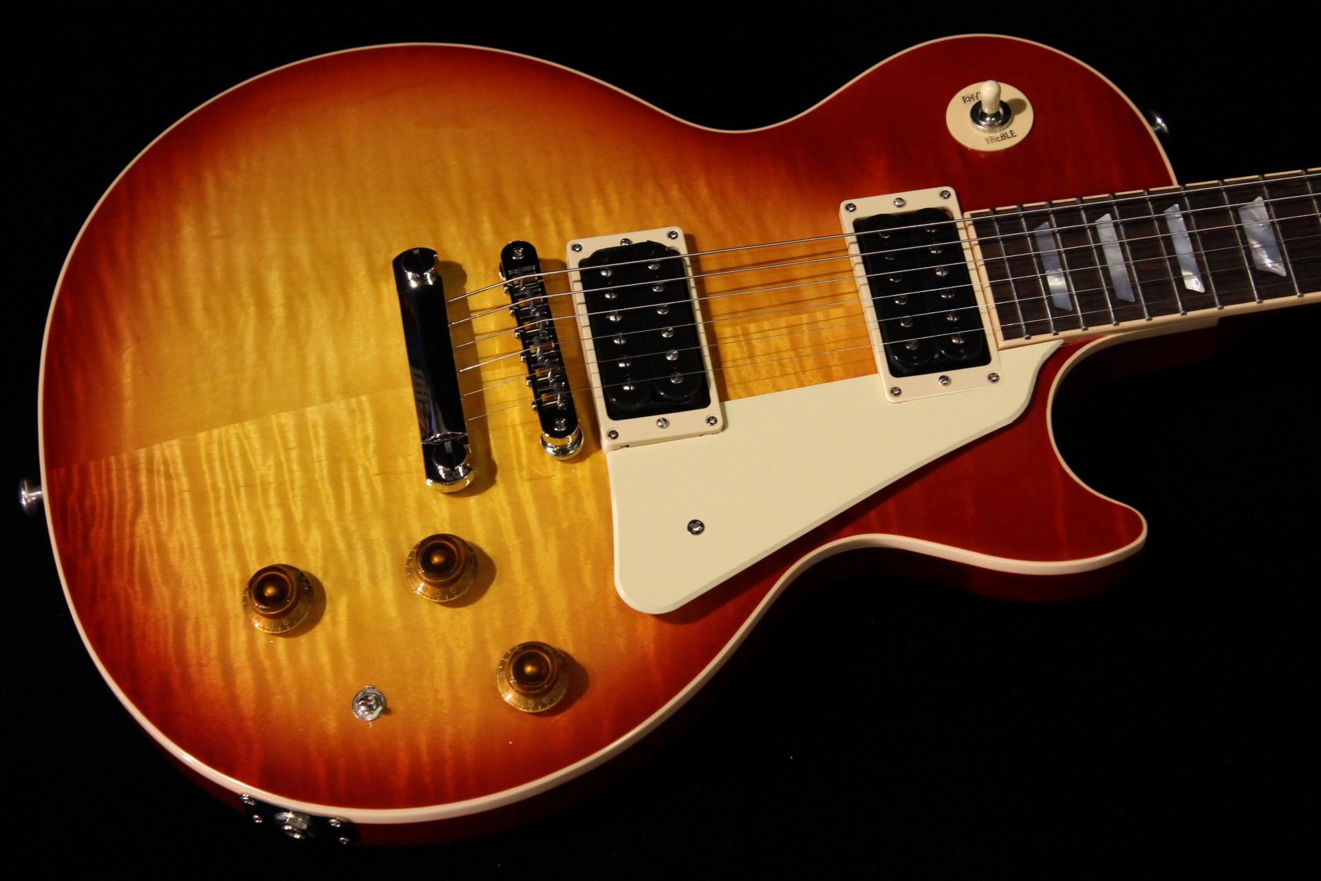 Weinlesesonnendurchbruch Gibson Les Paul
