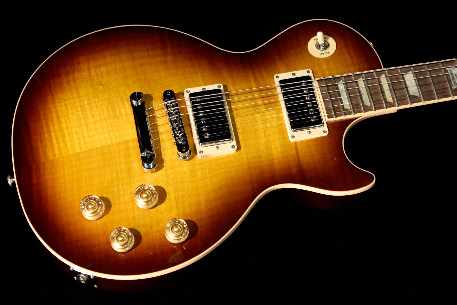 Gibson Les Paul Standard 2014 Tobacco Sunburst  Sn