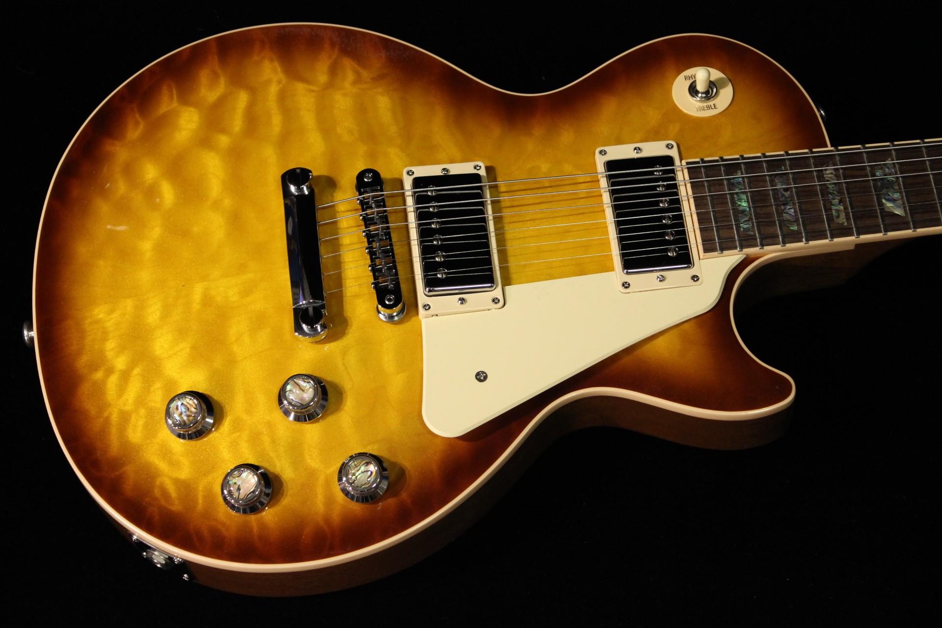 Gibson Les Paul Standard Premium Quilt 2015 Honey Burst