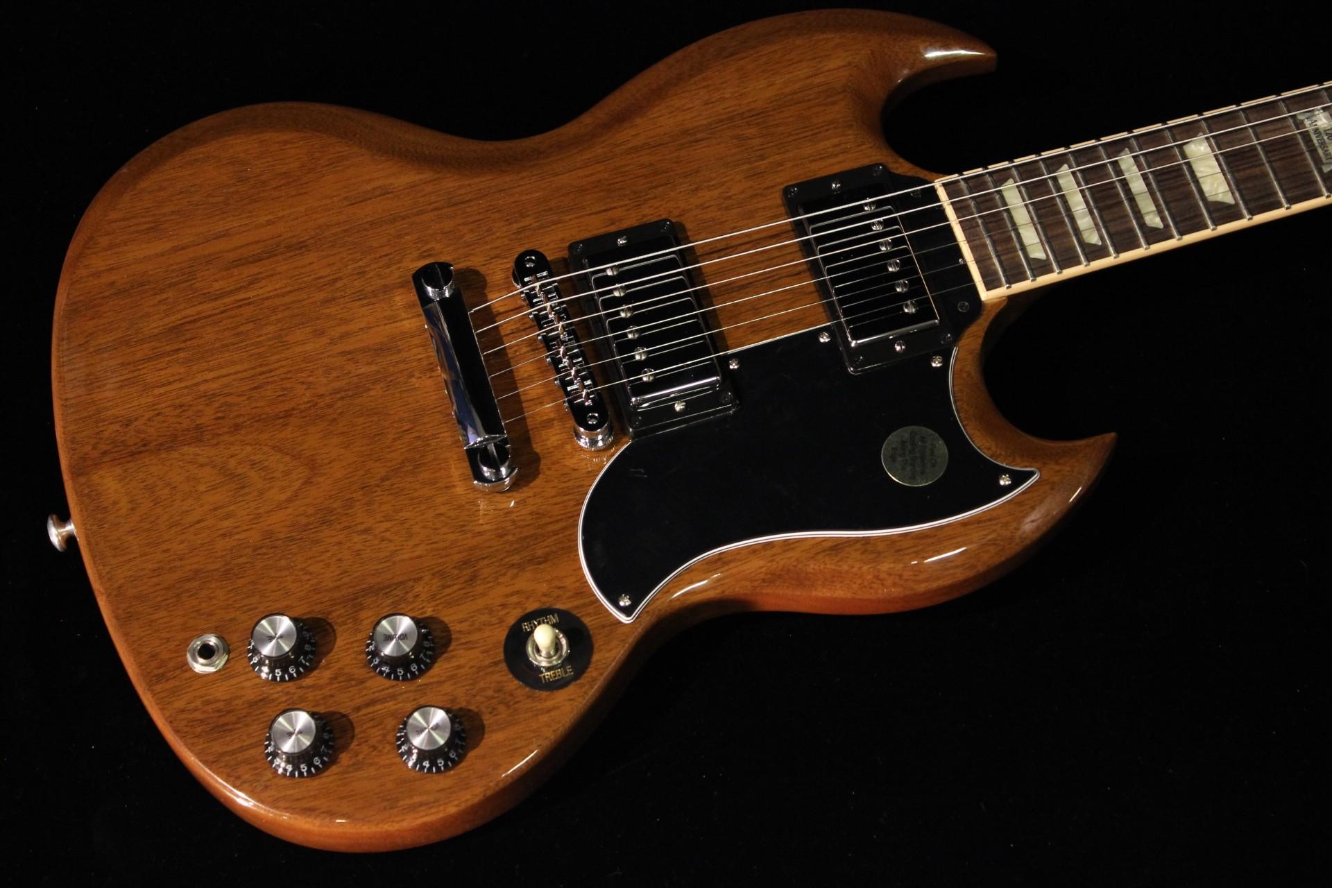 Gibson Sg Standard 2014 Walnut Sn 140028868 Gino Guitars