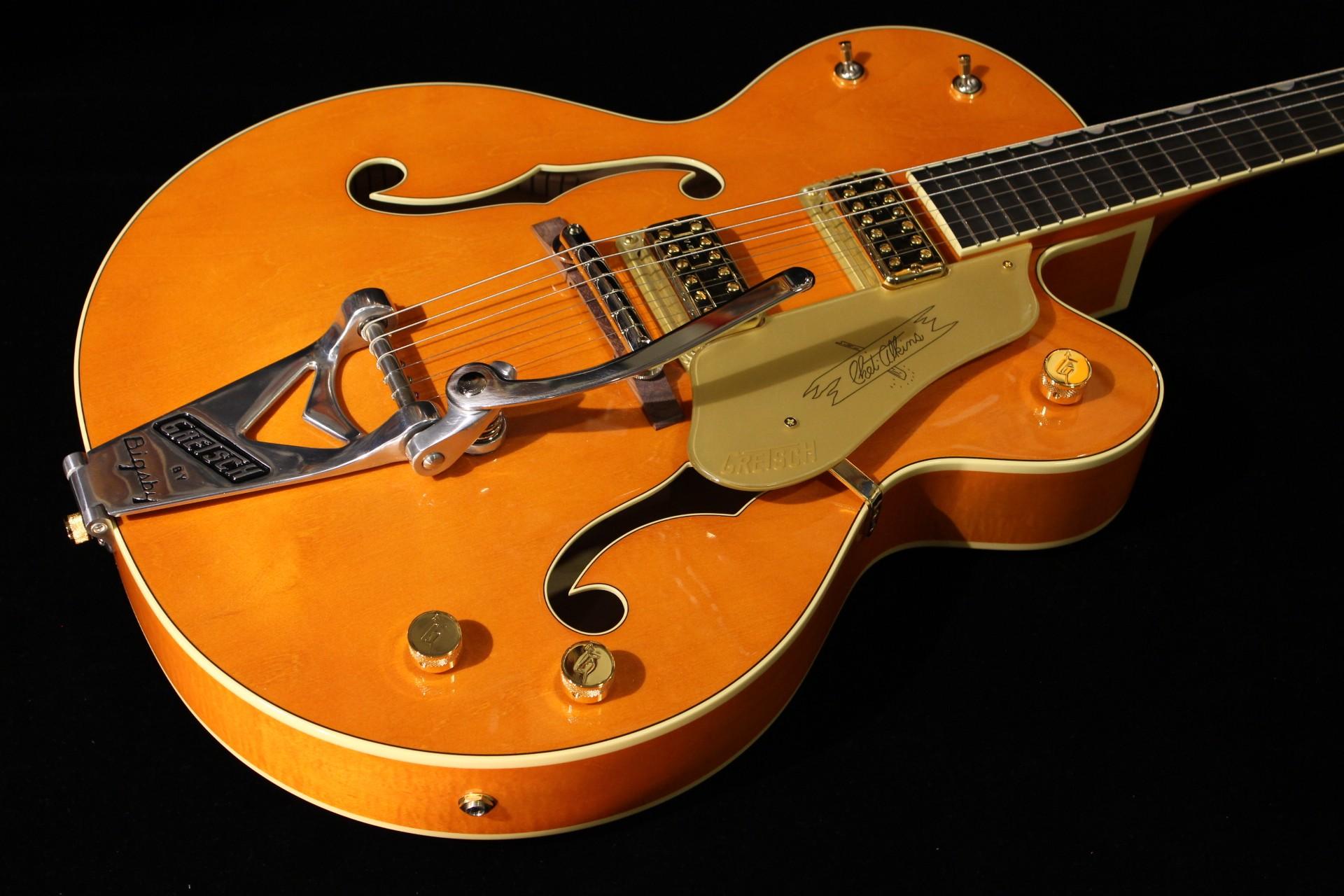 gretsch g6120 1959ltv chet atkins orange lacquer gino guitars. Black Bedroom Furniture Sets. Home Design Ideas